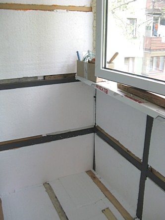 Как утеплить лоджию или балкон своими руками?