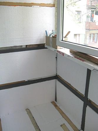 Лоджию или балкон своими руками