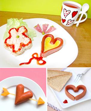 Как сделать романтическим завтрак в День Святого Валентина