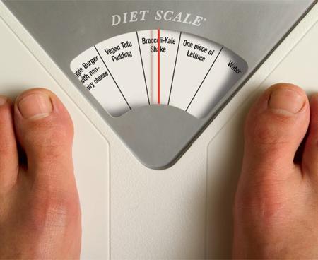 Если 26-летний мужчина привык употреблять по 2200 калорий в день и продолжит в том же темпе все следующие 20 лет, он наберет вес