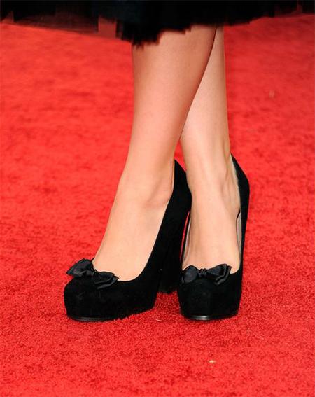 Бантики на туфлях