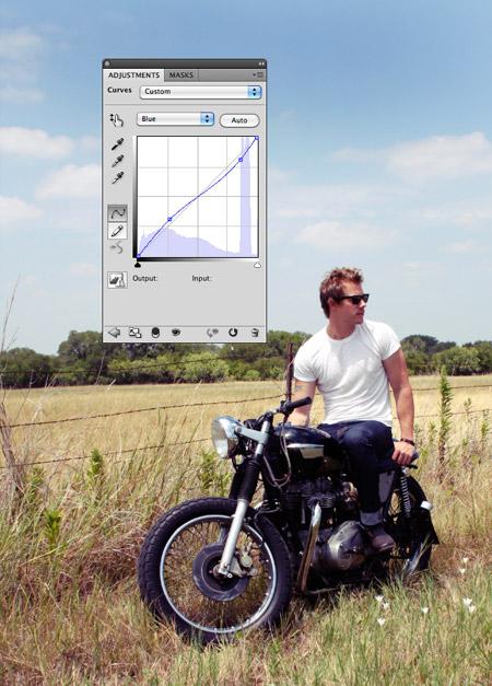 Как средствами Photoshop придать фотографии эффект ломо в темных оттенках