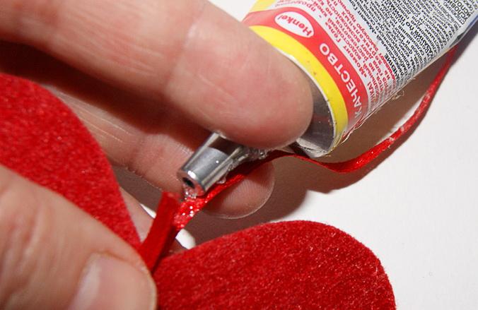 Как сделать оригинальную валентинку из фетра
