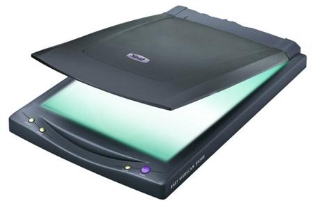 Плотно прижав к сканирующей поверхности, отсканируйте ваш коллаж и сохраните на цифровом носителе