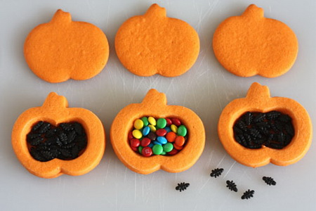 Как сделать печенье с сюрпризом внутри на Хэллоуин?