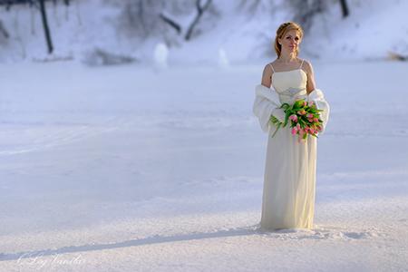 Свадьба зимой – это очень хлопотно, не совсем удобно, но крайне романтично