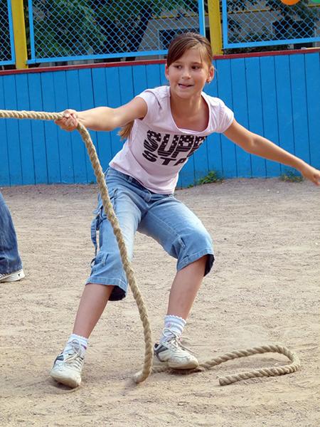 Суть в том, что спорт должен быть для детей веселым