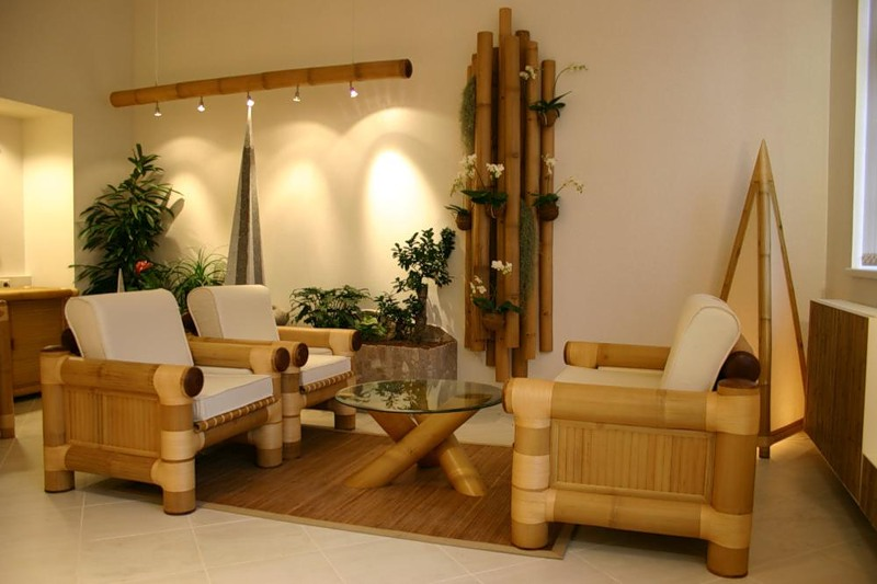 Как использовать бамбук в современном интерьере?