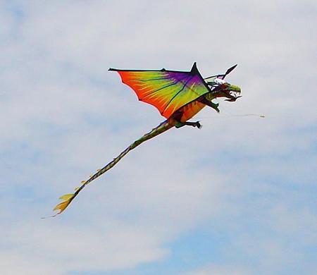 Воздушные змеи из шелка ярче, изящнее и могут использоваться в декоративных целях