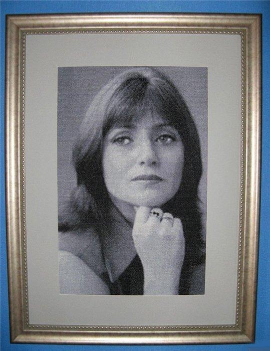 Как вышить портрет по фотографии?