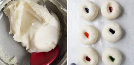Как сделать разноцветное тесто для детских поделок?