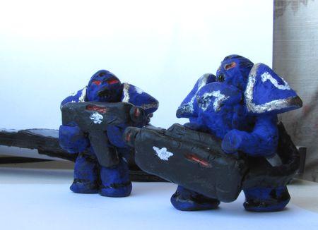Как слепить космодесантника или бюджетный Warhammer