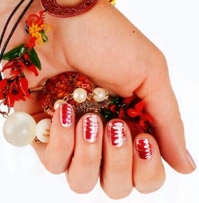 рисунки на ногтях лепестки