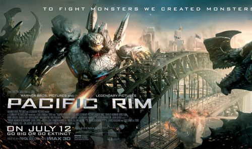 Тихоокеанский рубеж плакат к фильму