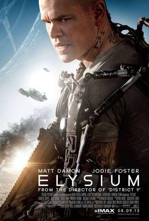 плакат к фильму Элизиум (Elysium)