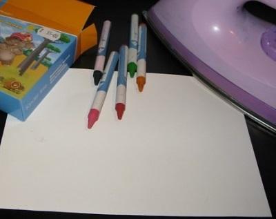 Как рисовать утюгом