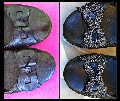 Как придать старым туфлям новую жизнь