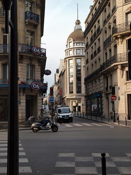 Красивая улица Парижа