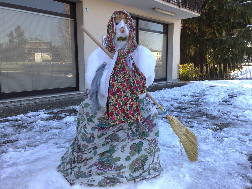 Как лепить снеговика