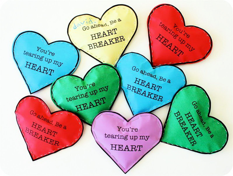 Как сделать своими руками сердце с пожеланиями любимому