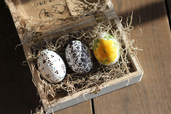 Как сделать необычное пасхальное яйцо с посланием внутри
