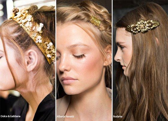 Как подобрать модные летние аксессуары для волос: тренды 2016