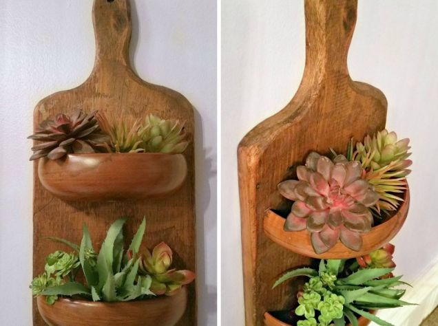 Как креативно использовать кухонную доску в интерьере?