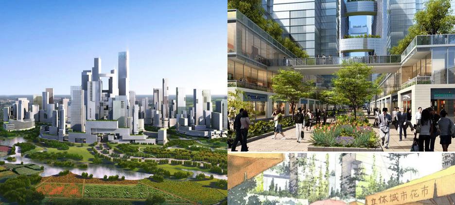 Как будут выглядеть города будущего: 10 уникальных проектов. Часть 1