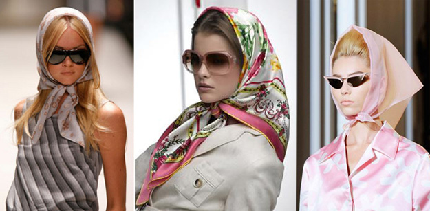 Как завязать платок вместо головного убора этой весной: 11 способов