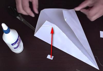 Как сделать воздушный змей из бумаги-8