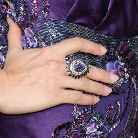 фиолетовые украшения