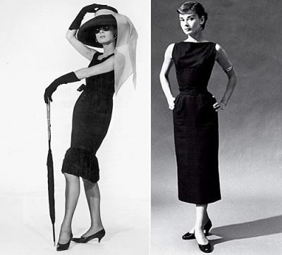 Как вошло в моду маленькое черное платье