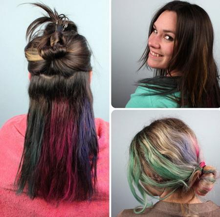 Как сделать мелки для волос и как правильно их использовать?