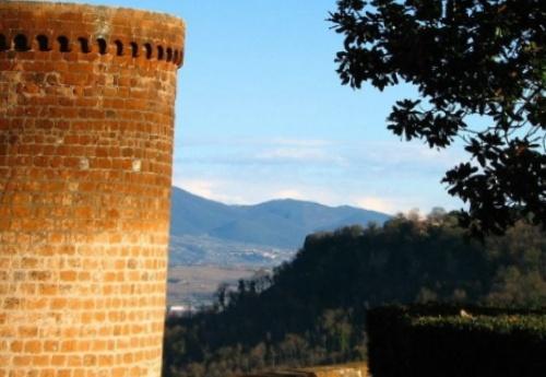 Орвието Умбрия, Италия, крепость Альборнос