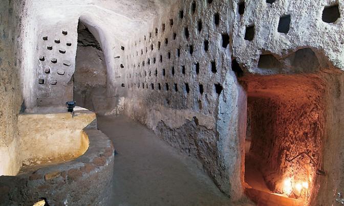 грот Адриана Италия Орвието