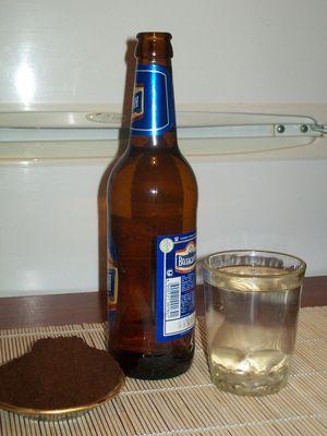 Как приготовить ликер из пива