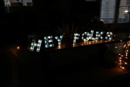 Как сделать объемные буквы с подсветкой