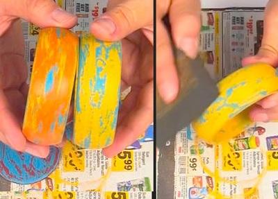 Как сделать украшения кислотных оттенков