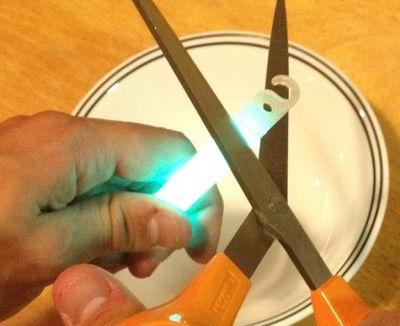 Как сделать светящиеся предметы