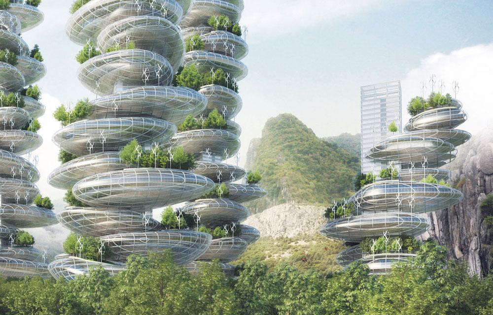 Как будут выглядеть города будущего: 10 уникальных проектов. Часть 2.