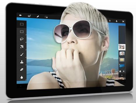 Как пользоваться Photoshop Touch: графический редактор для сенсорных устройств. Часть 2.