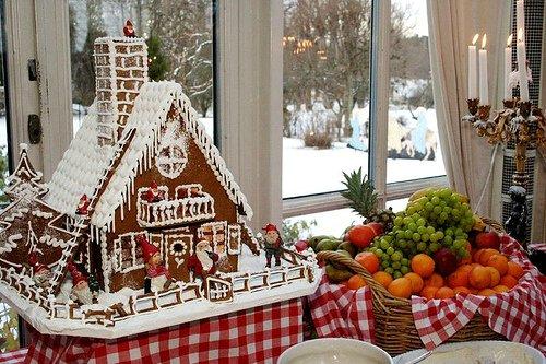 Как сделать пряничный домик на Новый год? Часть 1: Выпекание и сборка.
