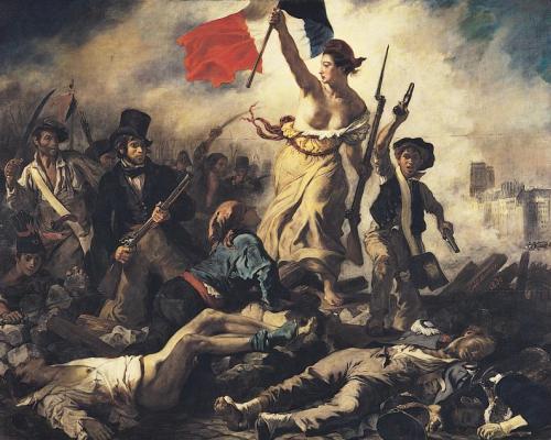 Как Марианна стала символом Франции