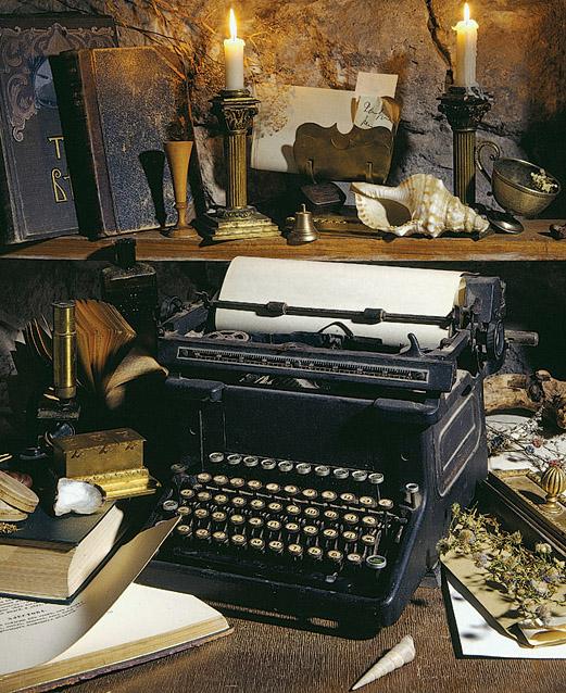 Печатная машинка, как перо журналиста