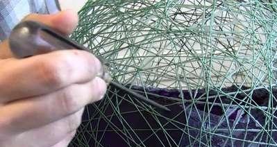 Как сделать оригинальный абажур для лампы