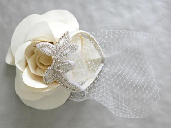 Как своими руками сделать свадебную вуаль