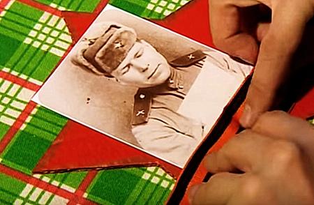 Как сделать своими руками композицию на 9 мая с фото ветерана?