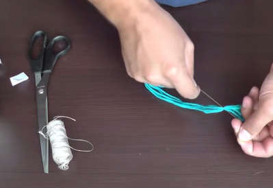 Как сделать воздушный змей из бумаги-10