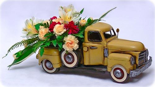 Как гармонично разместить букет цветов в помещении