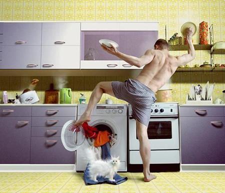 Добровольно предложите свое время и усилия в помощи по дому и уходу за детьми
